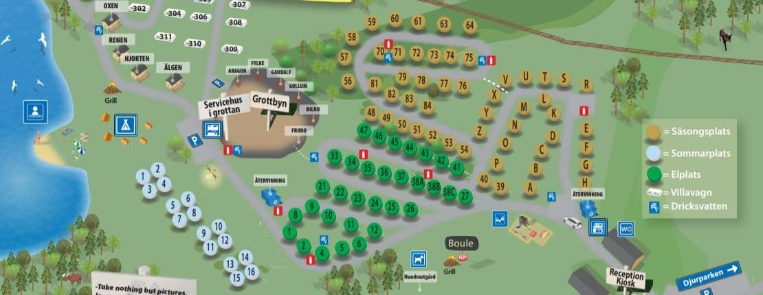 Grottbyns karta 2020